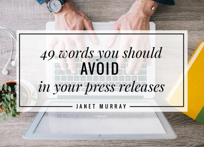 49 words never to use…